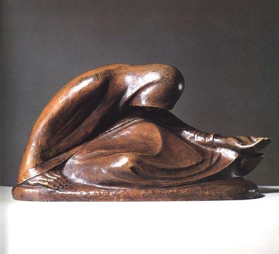 Bettlerin, Barlach Galerie Wimmer