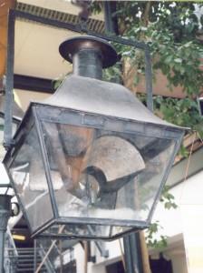 Revèrbère. Foto Archiv zur Geschichte der Öffentlichen Beleuchtung