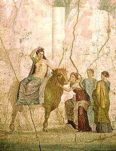Europa, Pompejii Fresco, wikipedia