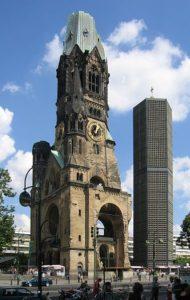Kaiser Wilhelm Gedächtniskirche Berlin, Foto Wikipedia GerhardM